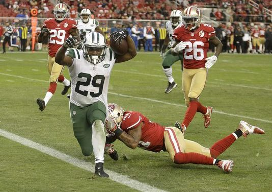 NY Jets Pull Through in OT Over the San Francisco 49ers 23-17