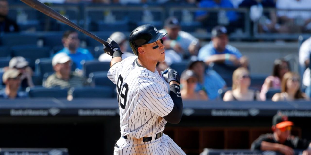 New York Yankees Rookie Aaron Judge: Have a Seat Fans